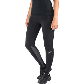 Zone3 Compression Tights Women, black/grey/gun metal